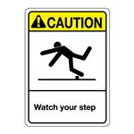 ANSI Watch Your Step
