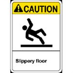 ANSI Slippery Floor