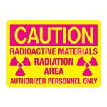 Radioactive Materials/Radiation Area/Auth Personnel Only