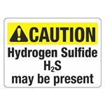ANSI Hydrogen Sulfide May Be Present