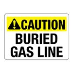 ANSI Buried Gas Line