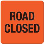 Interchangeable A Frame Sign - ROAD CLOSED