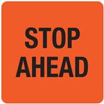 Interchangeable A Frame Sign - STOP AHEAD