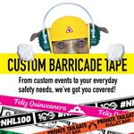 Custom 4 Mil Barricade Tape 3 X 1000