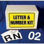 Die Cut Numbers Kit