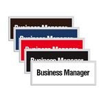 Engraved Door Sign - Business Manager
