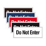 Engraved Door Sign - Do Not Enter