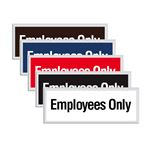 Engraved Door Sign - Employees Only