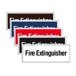 Engraved Door Sign - Fire Extinguisher