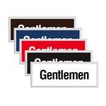 Engraved Door Sign - Gentlemen