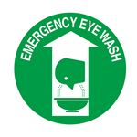 Emergency Eye Wash - 18 inch diameter