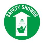 Anti-Slip Floor Decals - Safety Shower 18 inch diameter