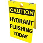Hydrant Flushing Today -Floor Stand - Hydrant Flushing Today 12 x 20