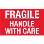 Fragile Handle With Care - Small 2 x 3