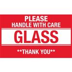 Please Handle With Care Glass Thank You - Small 2 x 3