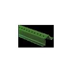 Green Enamel U-Channel Post