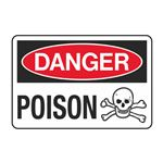 Danger Poison Decal