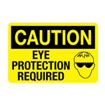Caution Eye Protection Required Decal