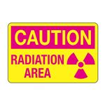 Caution Radiation Area Decal
