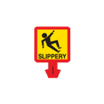 Safety Cone Accessories - Slippery 8 x 8