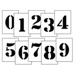 Magnetic Stencil Number Kit
