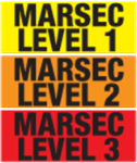 Magnetic MARSEC Signs - Replacement MARSEC Magnetic Panels for Premises Sign