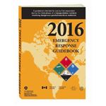Emergency Response Guidebook 2016 - Desk Copy Spanish, Softbound 5.5 in. x 7.5 in.