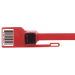 Heavy Duty Cargo Seals - With Barcodes 23/64 inches wide (strap) x 11-5/8 inches