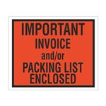 Important Invoice Packing List Enclosed Envelope