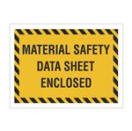 Packing List Envelopes - Material Safety Data Sheet Enclosed 4.5 x 6