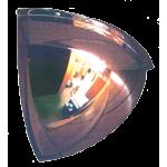Diameter Convex Mirrors - Quarter Dome Style 18 x 18
