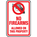No Firearms Allowed On This Property