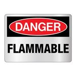Danger Flammable Sign - Reflective
