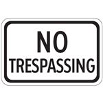 No Trespassing - Engineer Grade Reflective 12 x 18