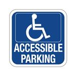 Accessible Parking - Symbol Sign