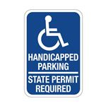 Handicapped Parking Stat …  Required - Symbol Sign