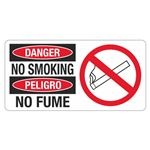 Danger No Smoking - 4 in. x 8 in.