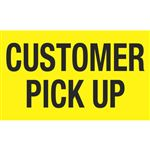 Customer Pick Up - 3x5 in