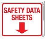 SDS Wall Signs - Safety Data Sheets Flange Sign 10x12