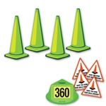 360 Walk Around Safety Kit - Fluorescent Green
