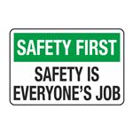Safety is Everyones Job Decal