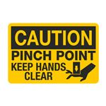 Pinch Point Keep Hands Clear - PK/5 Graphic Decal